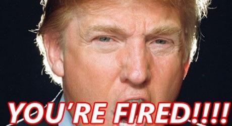 fired trump